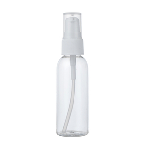 hot sale 50ml Oval Shaped Pet Bottle Clear