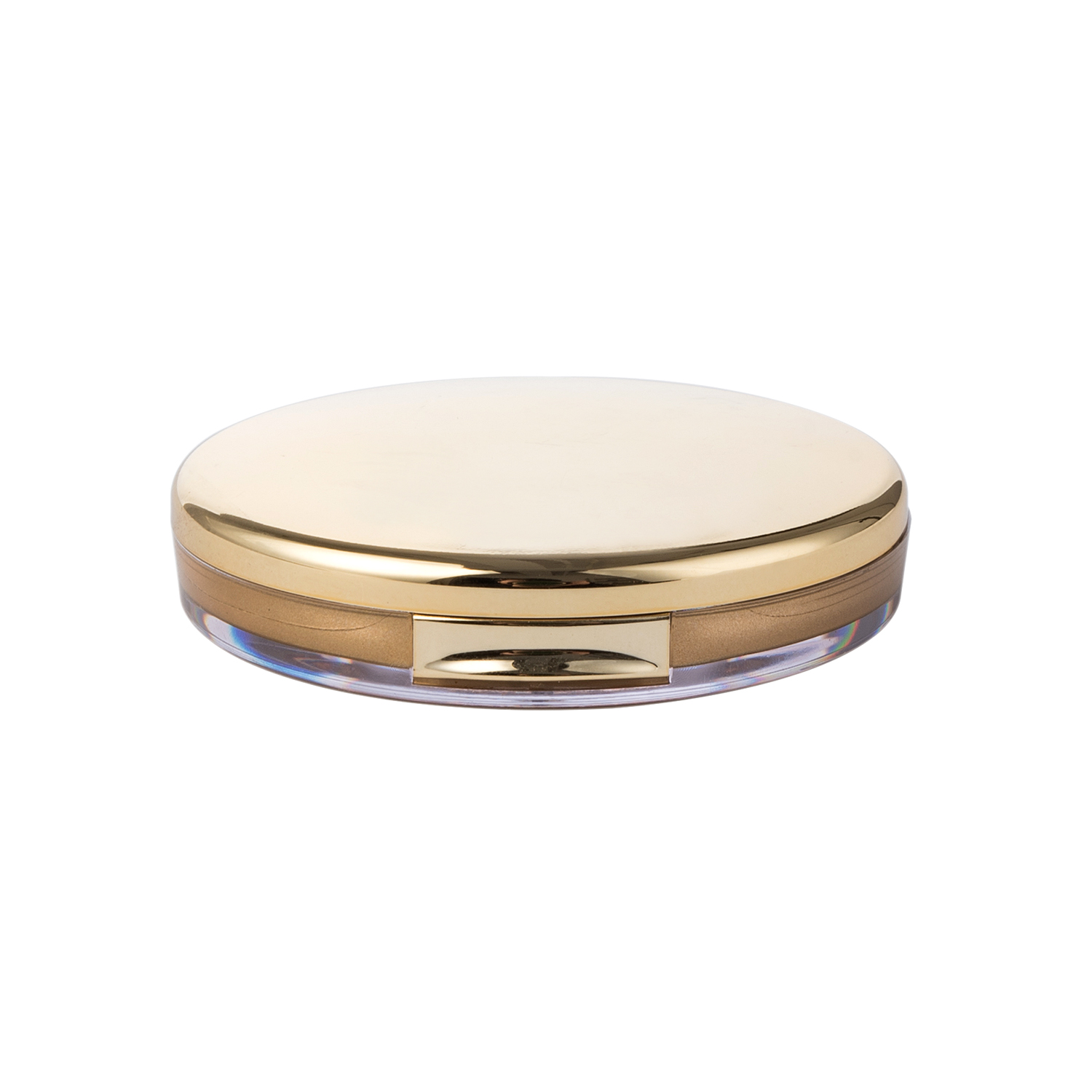 Luxury Double Wall Compact Powder Case plastic compact case