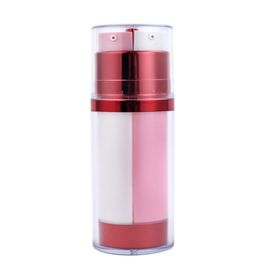 90ml 130ml Dual Chamber Cosmetic Pump Bottle