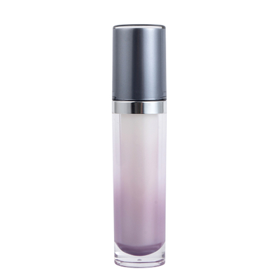 15ml 30ml Cylinder Acrylic Lotion Pump Bottle