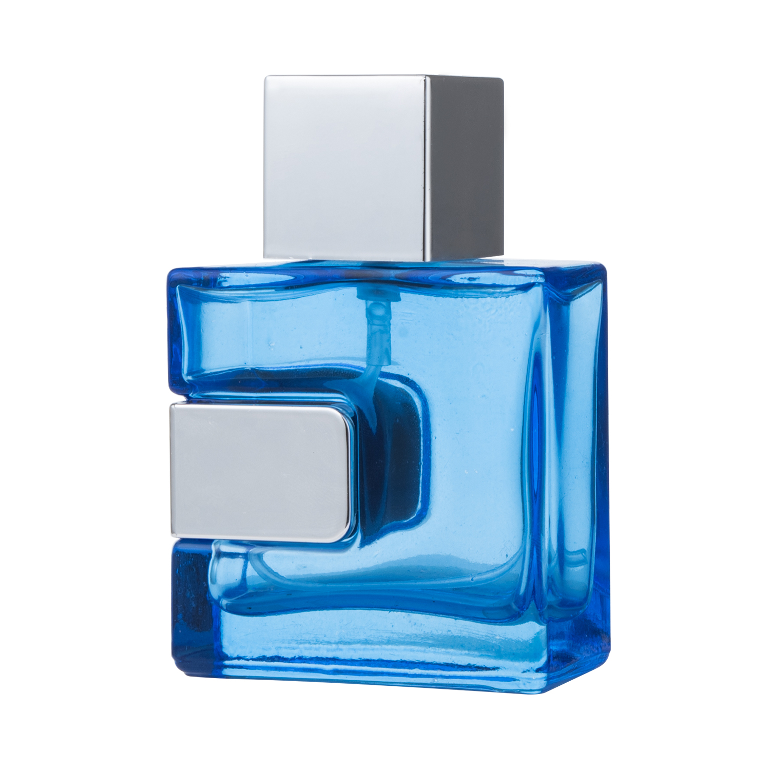 50ml Square Glass Perfume Bottle with UV Cap Perfume Bottle Wholesale