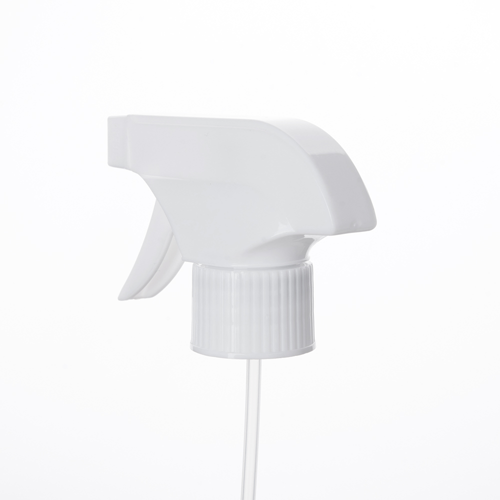 28/410mm White Trigger Spray Heads in Stock China Trigger Sprayer Manufacturer