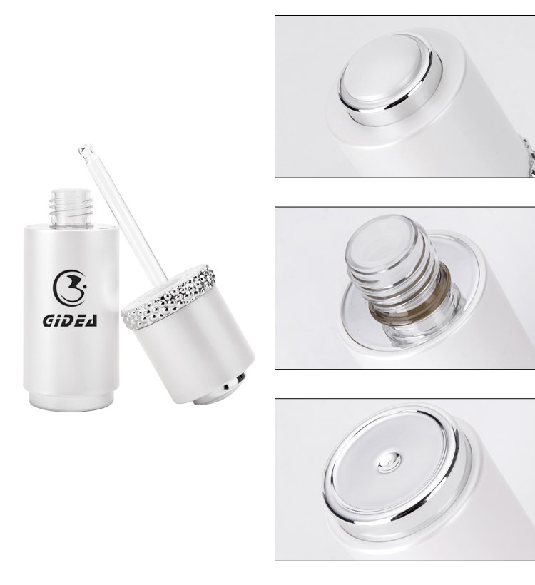 15ml 30ml Plastic Opaque Push Button Dropper Bottle Frosted Bottle For Essential Oils