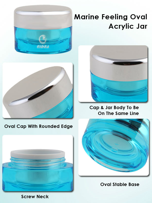 15g 50g 30g Acrylic Jar Container