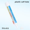15g White Nozzle Cosmetic PE Tube