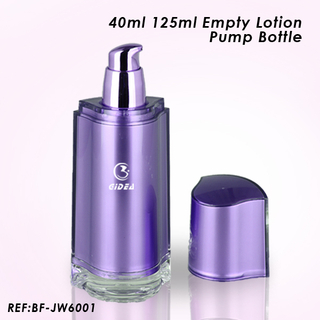 40ml 125ml Plastic Lotion Pump Bottle