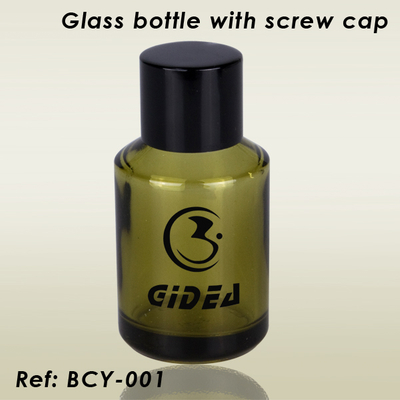 Glass Bottle with Screw Cap
