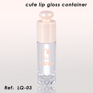 Waterproof Lip Gloss Container Private Label