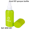 50ml 80ml Green PET Oval Bottle