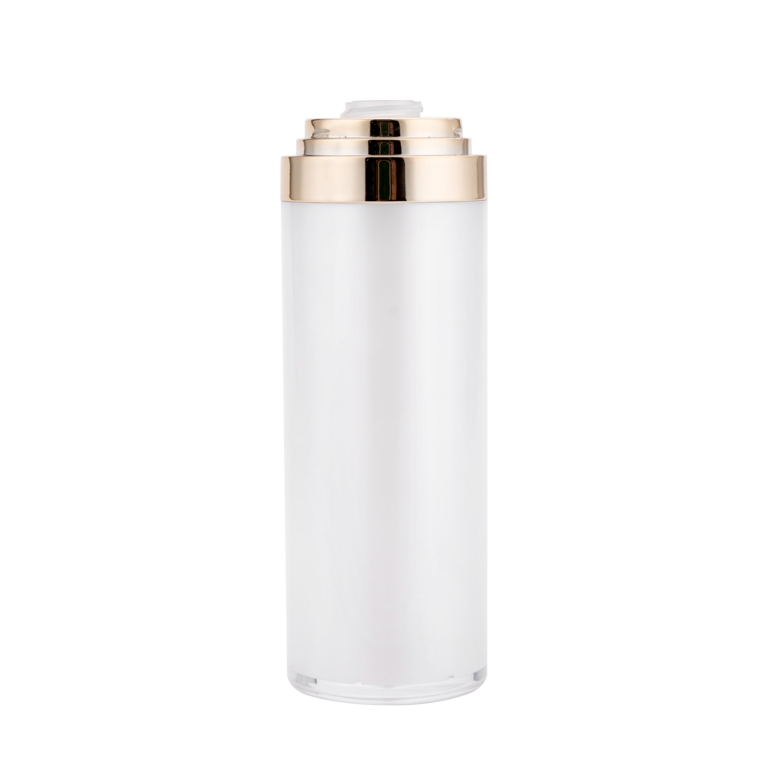 High Quality Luxury Acrylic Thick Cream Airless Bottle Double Wall