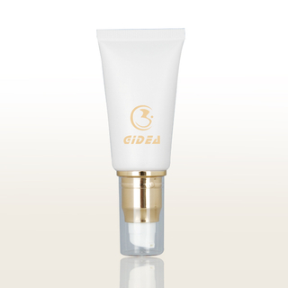Pump White Cosmetic Tube
