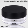 Loose Powder Jar with Sifter