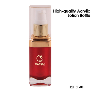 15ml 30ml Square Acrylic Cosmetic Lotion Pump Bottle