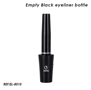 Empty Black Plastic Eyeliner Tube