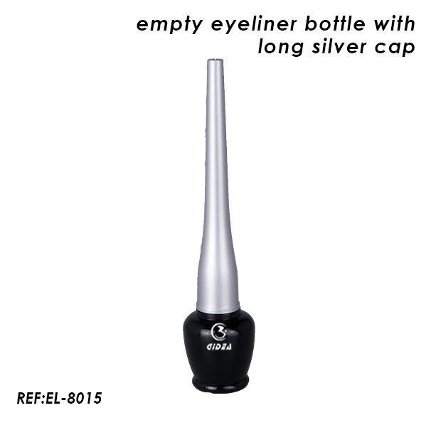 Empty Black Eyeliner Bottle