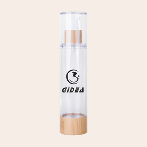 15ml 30ml 50ml 80ml 100ml 120ml Bamboo Cosmetic Airless Pump Bottle