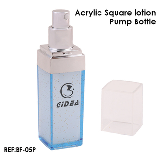 Clear Lotion Pump Empty Plastic Bottles