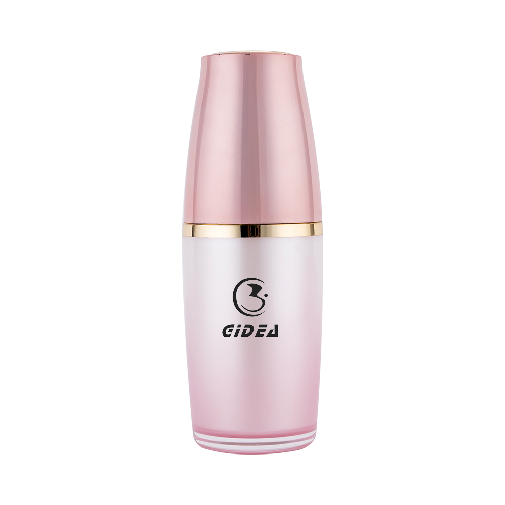 30ml 50ml 120ml Pmma Pink Cosmetic Empty Spray Lotion Bottle