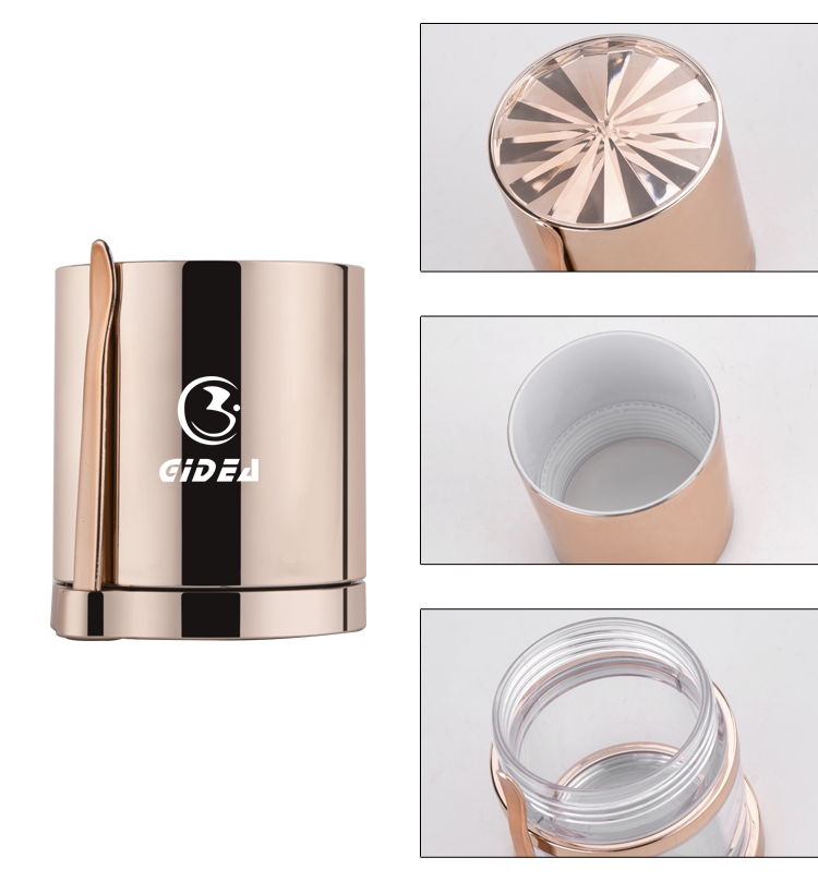 50g 80g PETG Lotion packaging Cosmetics Jar And Container