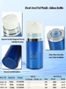 50ml 80ml 120ml Cylinder Plastic Airless Bottle