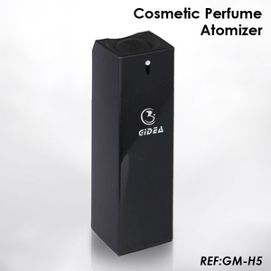 10ml 35ml 40ml 45ml Square Shape Pp Black Perfume Bottle 20ml