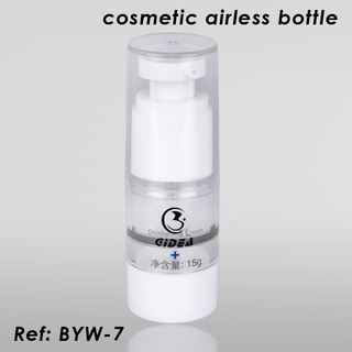 15ml 30ml 50ml 80ml 100ml Clear Airless Pump Bottles