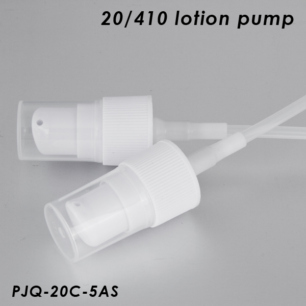White Lotion Pump 20/410