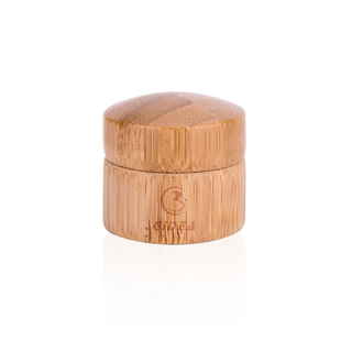 Small Bamboo Lid Cosmetic Cream Jar