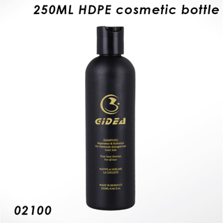 250ML Boston Round HDPE Bottle
