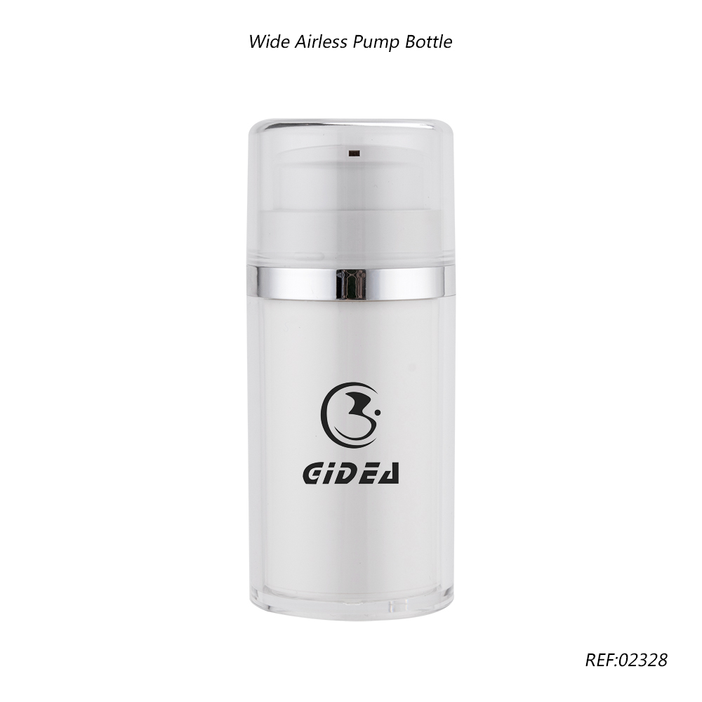 Plastic Airless Cosmetic Bottle with Pump