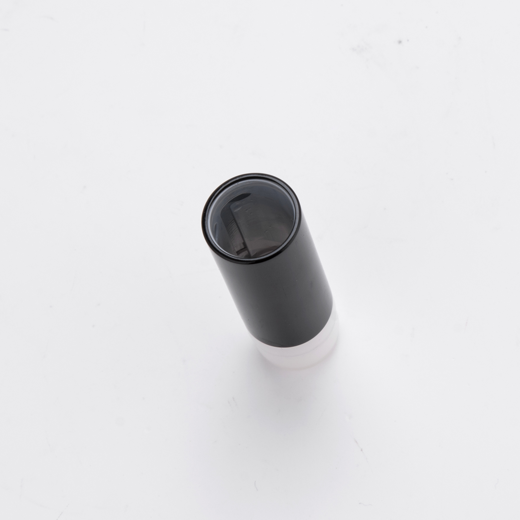 Mini Black Plastic Lipstick Tube