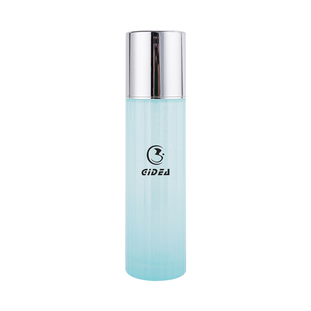 Blue Color 40ml 100ml 120ml Cosmetic Glass Lotion Bottle with Pump
