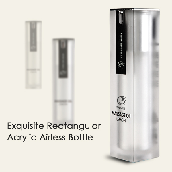 50ml/40ml/30ml /20ml Airless Bottle Cosmetics Packing