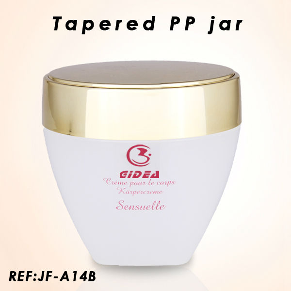 New Container 300g tapered pp jar
