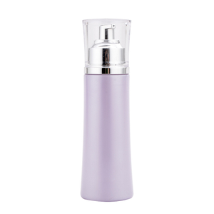 100ml Purple Color Glass Cosmetic Spray Cream Bottle