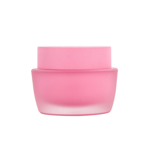 15ML Pink acrylic Cosmetic Jar