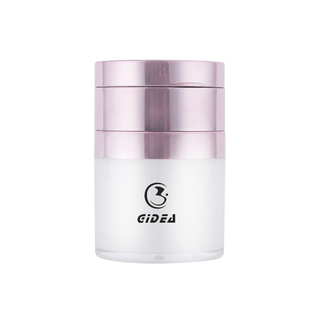 15ML/30ML White Pmma Cute Airless Pump Cosmetic Jar
