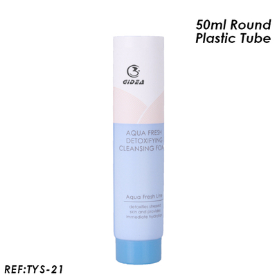 50ml Plastic Round Tube with Screw Cap