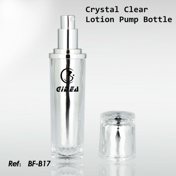15ml 30ml Cylinder Silver Cream Jars/Lotion Bottles