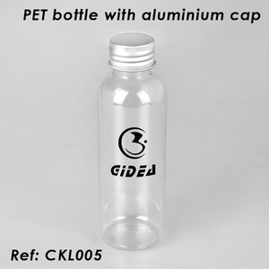 PET Bottle with Aluminum Cap