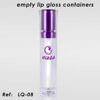 Empty Lip Gloss Container