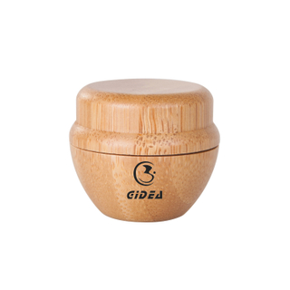 5g Bamboo Plastic Cosmetic Cream Jar Packaging