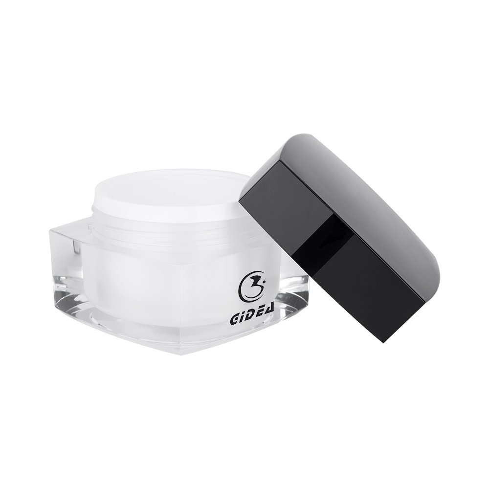 5g,10g,15g,30g,50g,100g Square Black Cosmetic Cream Jar