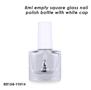 8ml Empty Glass Bottles for Nail Polish